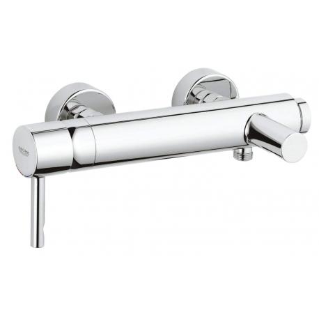Смесител за вана и душ GROHE New Essence, с чучур, стенен, без аксесоари