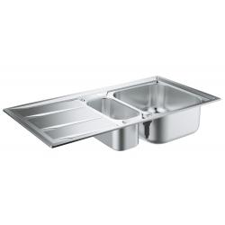 Кухненска мивка GROHE K400 от неръждаема стомана с автоматичен сифон, 31567SD0