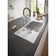 Кухненска мивка GROHE K700 от неръждаема стомана, 31580SD0