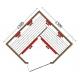 Инфрачервена сауна APOLLO D60730 с инфрачервени нагреватели, за 2 човека