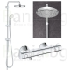 Пълен комплект за баня GROHE PALLET 8 GRT800 NEW TEMPESTA 210 - структура за вграждане, тоалетна, шкаф 55см с огледало, термоста