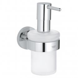Аксесоари за баня GROHE Essential - Стъклен дозатор с държач