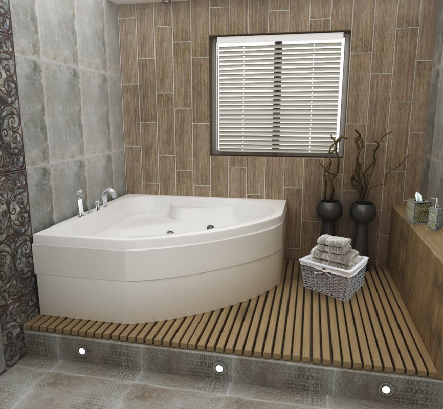 Хидромасажна вана ЕМОНА от Баня.бг – Влез в банята!