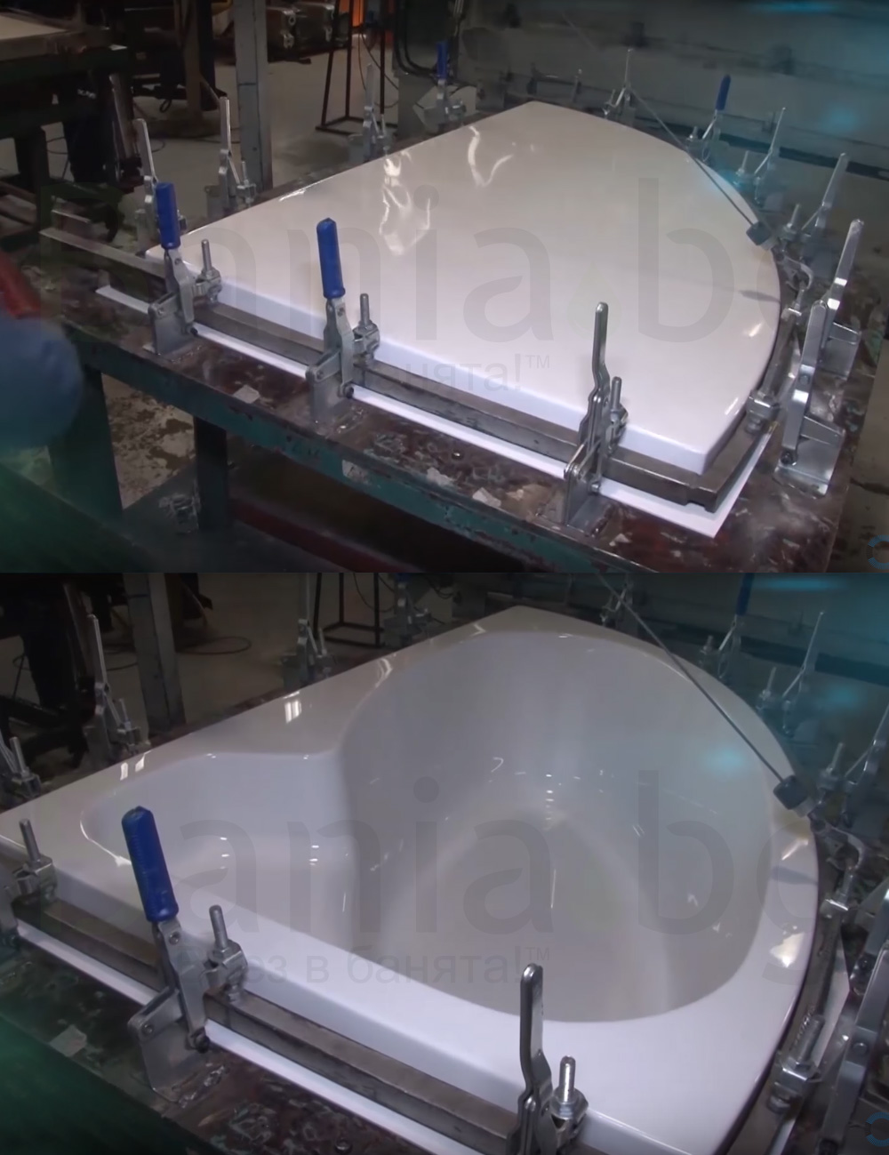 How to made acrilic bathtub