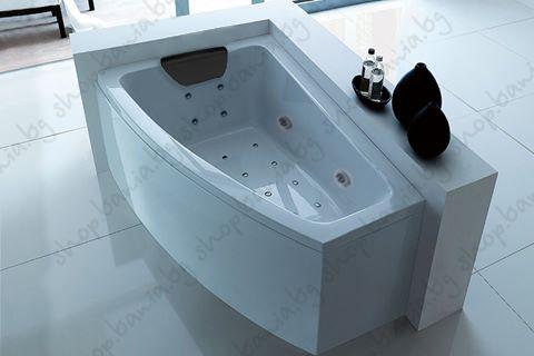 Хидромасажна вана ПРАГА 160х90 см. от Баня.бг – Влез в банята!