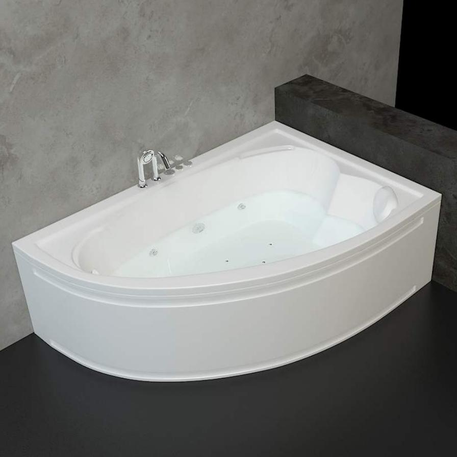 Хидромасажна вана ОНИКС 160х110 см от Баня.бг – Влез в банята!