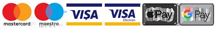 Плащате при доставка или с Mastercard, Visa, Apple Pay, Google Pay!