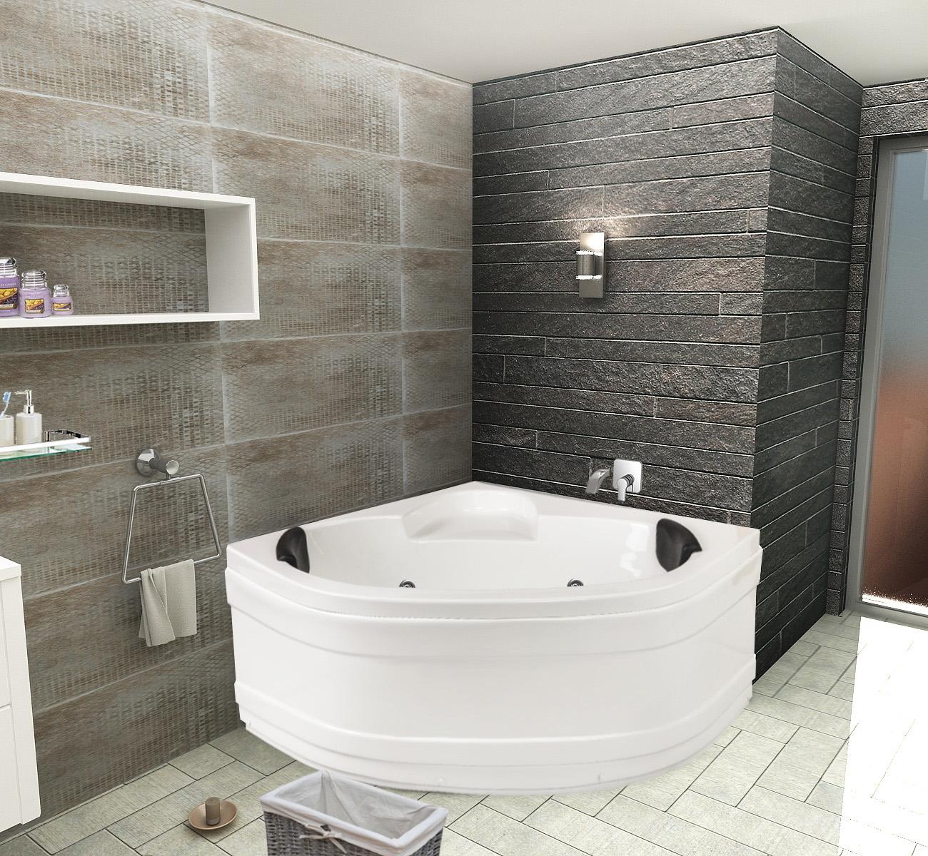 Хидромасажна вана СТЕЛА 120х120 см от Баня.бг - Влез в банята!